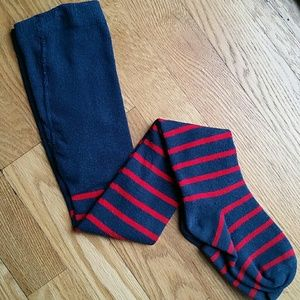 Size 5/6 girl Lands' End tights